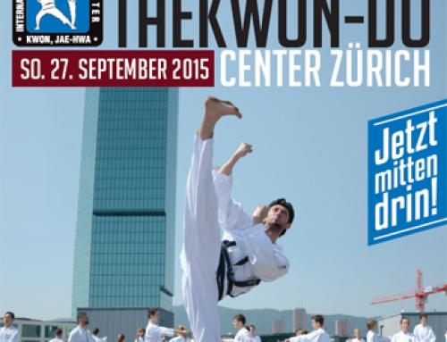 Eröffnung des neuen Taekwon-Do Center Zürich