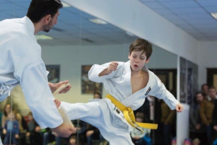 Taekwondo fuer kinder von 7 bis 13