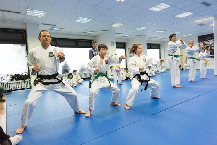 Einsteiger bei Taekwondo in Zürich und Freiburg