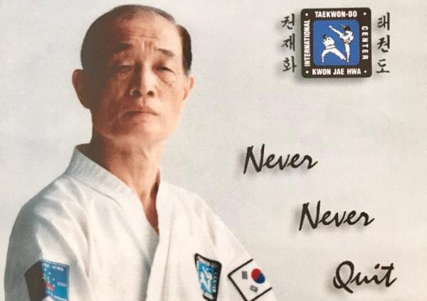 Großmeister für Taekwon-Do Kwon Jae-Hwa
