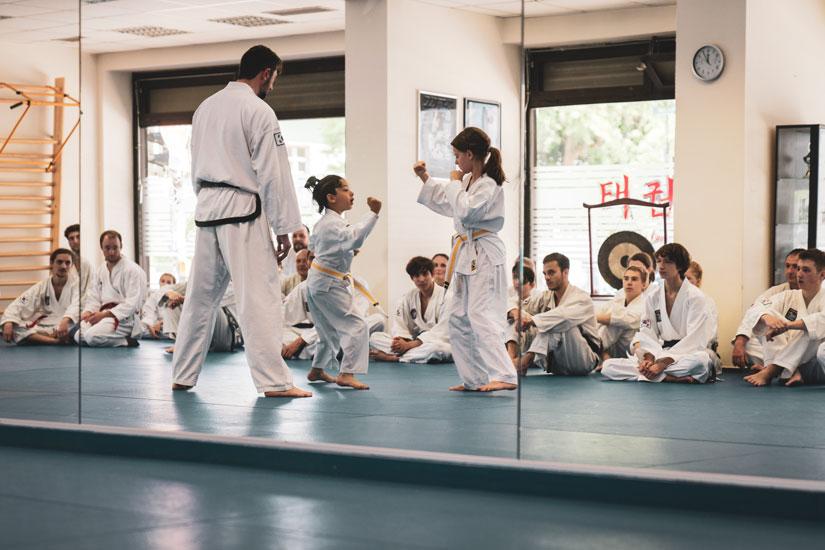 Taekwondo für Familien in Freiburg und Zürich