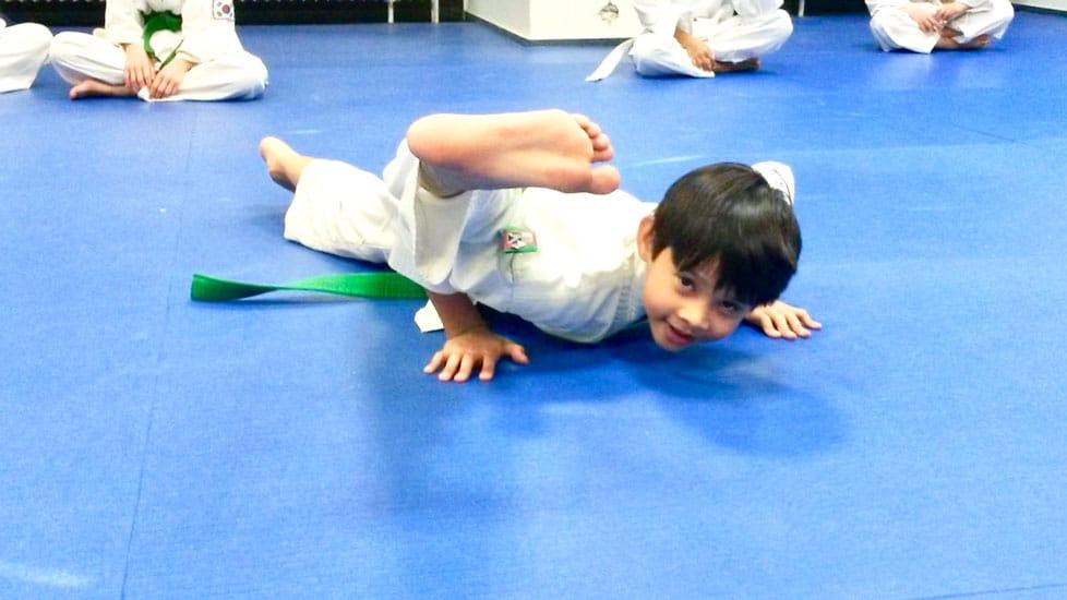 Taekwondo für Kinder von 4 bis 6 Jahren